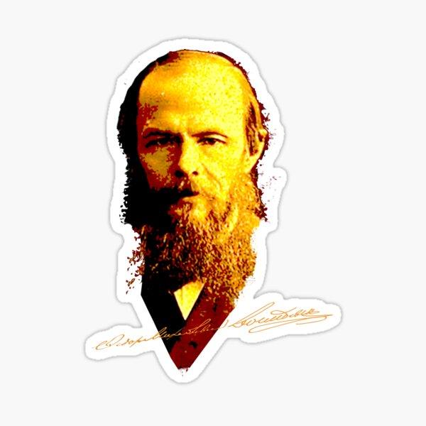 Fyodor Dostoyevsky Sticker