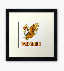 Precious Eagle Sticker Framed Print