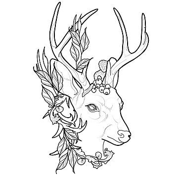 Woodland stag by cophine324b21
