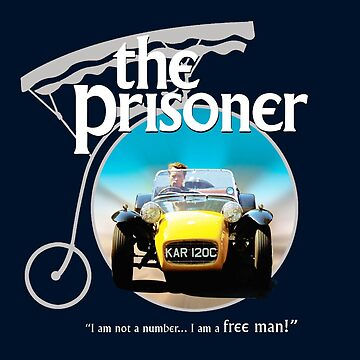 The prisoner - I'm not a number i am a free man by alphaville