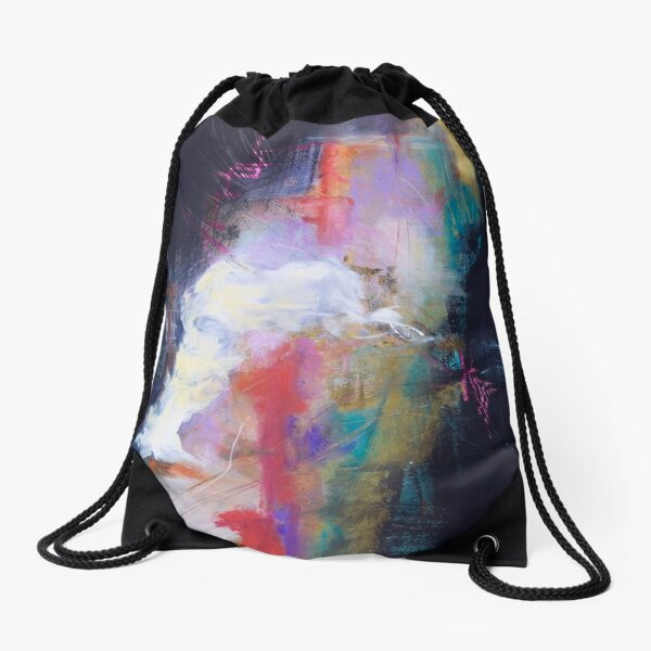 Following the Moses Voice Drawstring Bag