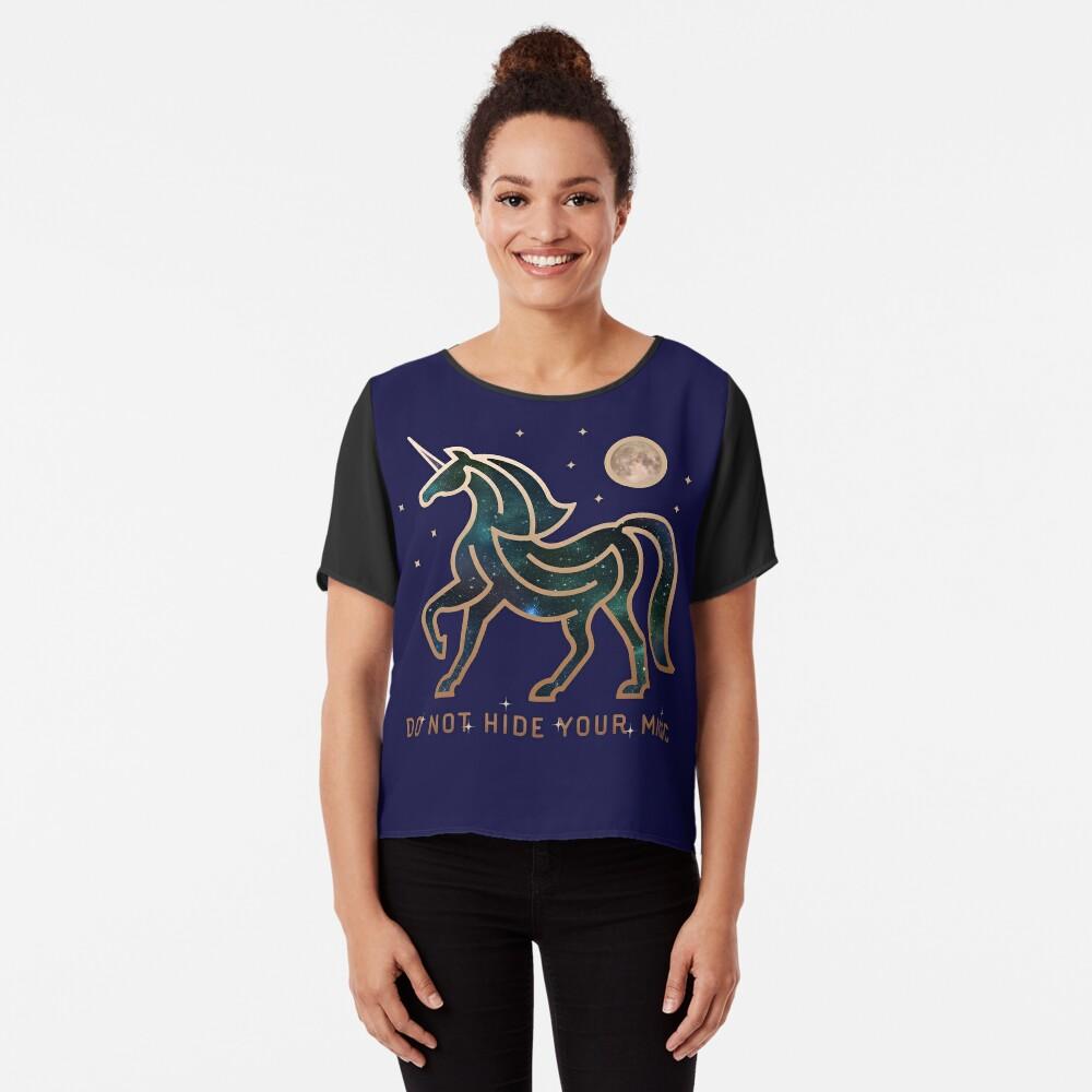 No ocultes tu magia - Unicornio galáctico Blusa