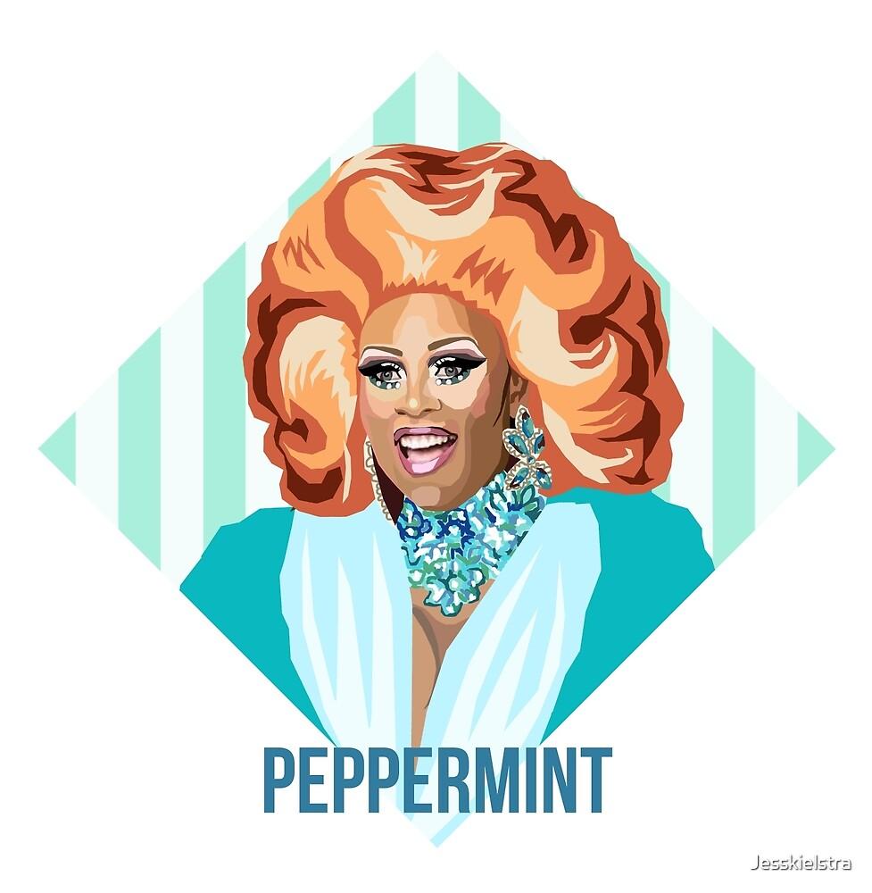 «Peppermint Queen RPDR inspirado» de Jesskielstra