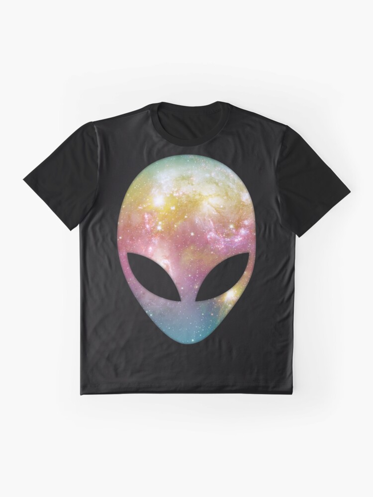 Alternate view of Space Alien Graphic T-Shirt