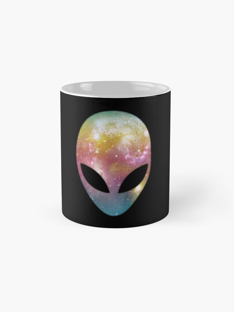 Alternate view of Space Alien Mugs
