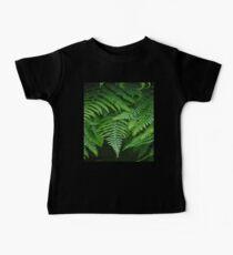 botanical rainforest tropical fern leaf foliage Baby Tee