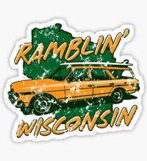 Ramblin' Wisconsin Sticker