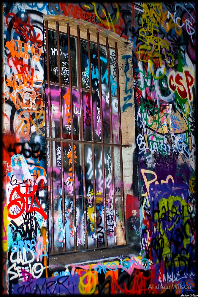 Hosier Lane 1 by Andrew Wilson