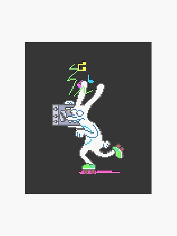 Binky Vintage 90 S Pixel Art Simpsons Arcade Photographic Print
