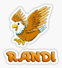 Randi Eagle Sticker Sticker