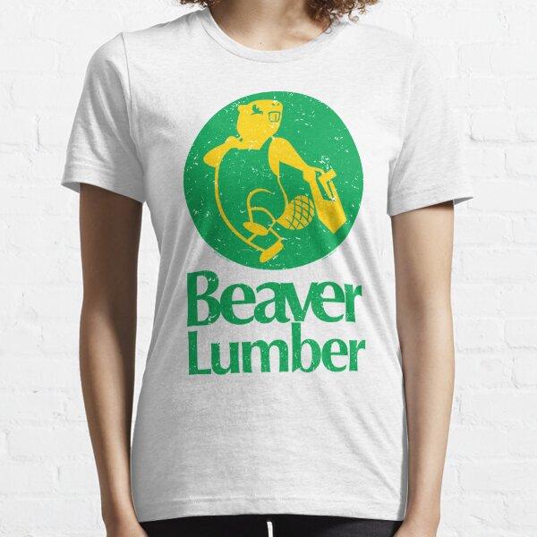Beaver Lumber (worn) [Roufxis - RB] Essential T-Shirt