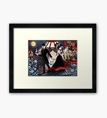 The Magician and the Illusionist Framed Print