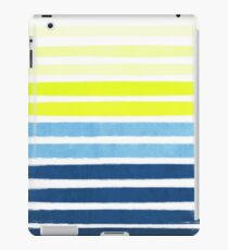 Stripes - Navy and Yellow -- Bright Summer Stripe Design for Cell Phone Case iPad Case/Skin