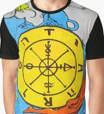 Tarot - the Wheel of Fortune Graphic T-Shirt
