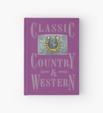 Classic Country & Western (Golden Horseshoe)  Hardcover Journal