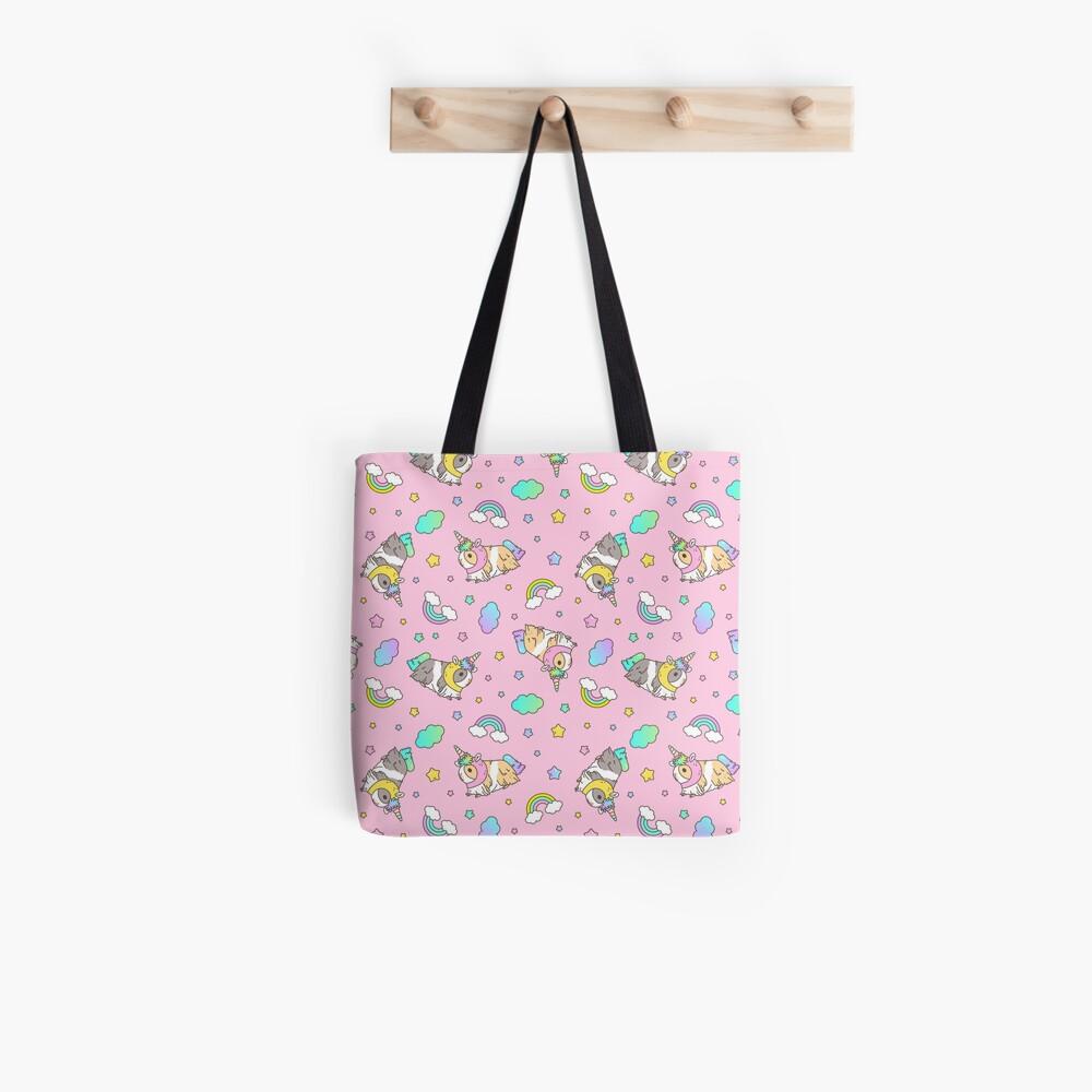 Piggycorn Pattern in pink  Tote Bag