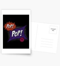 Pop POP! Postcards