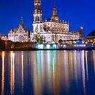 Hofkirche - Dresden, Germany by Yen Baet