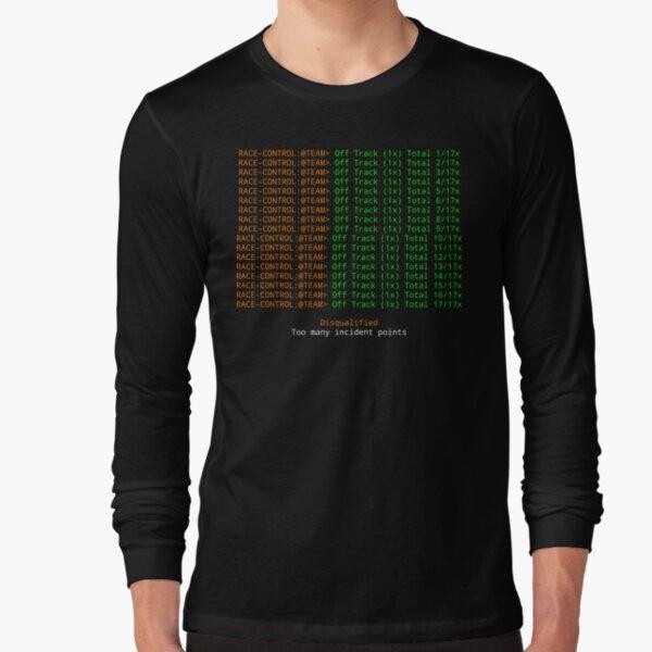 iRacing 1X Long Sleeve T-Shirt