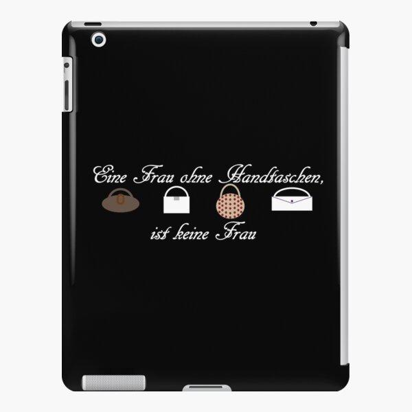 Frau ohne Handtaschen iPad – Leichte Hülle