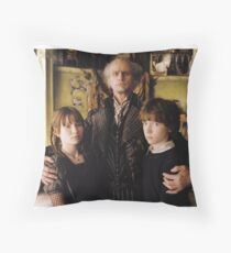 A Series of Unfortunate Events Trio Throw Pillow