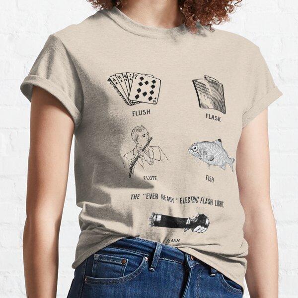 Flush, Flask, Flute, Fish, Flash Fun Classic T-Shirt