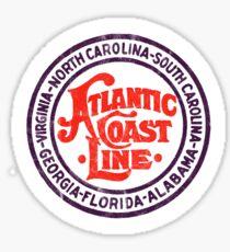 Atlantic Coast Line Railroad Sticker
