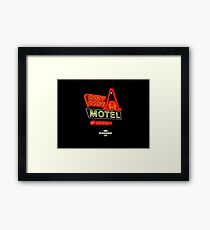 Cozy Cone Motel Framed Print