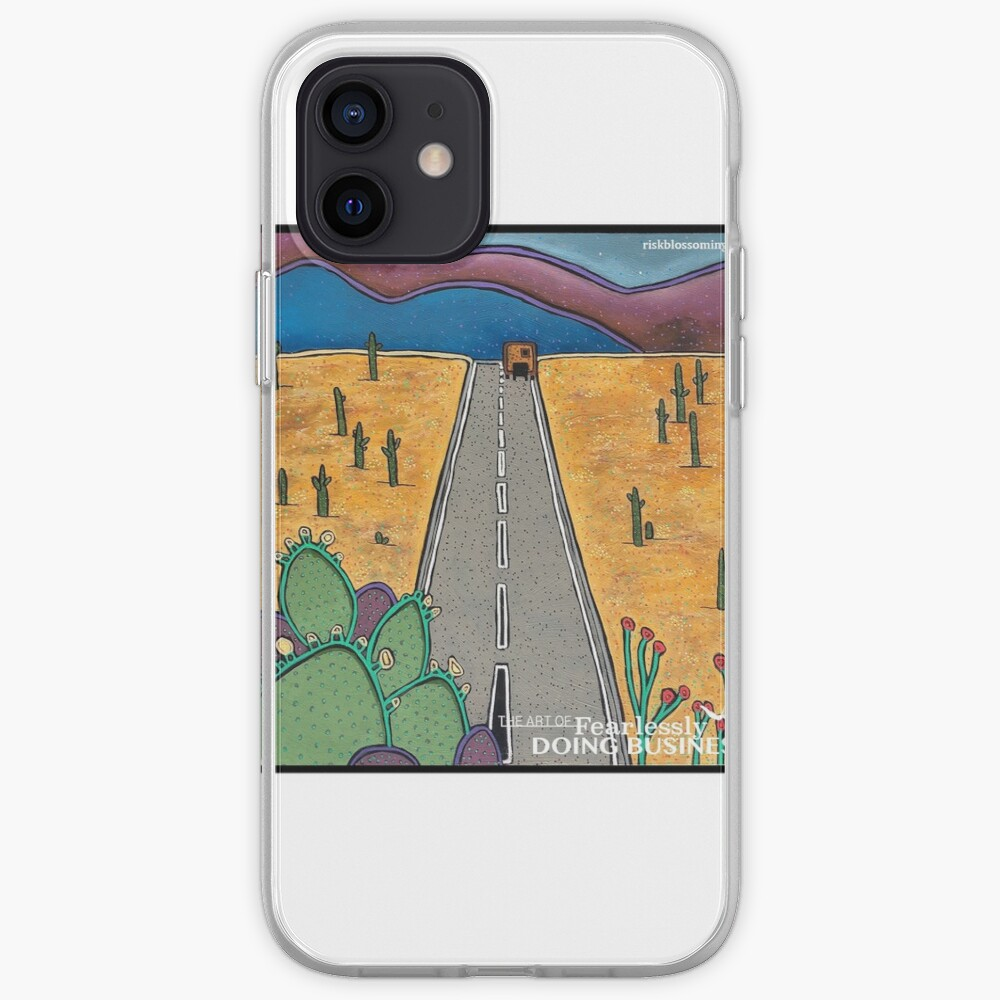 Risk Blossoming iPhone Case & Cover