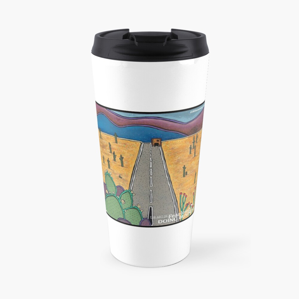 Risk Blossoming Travel Mug