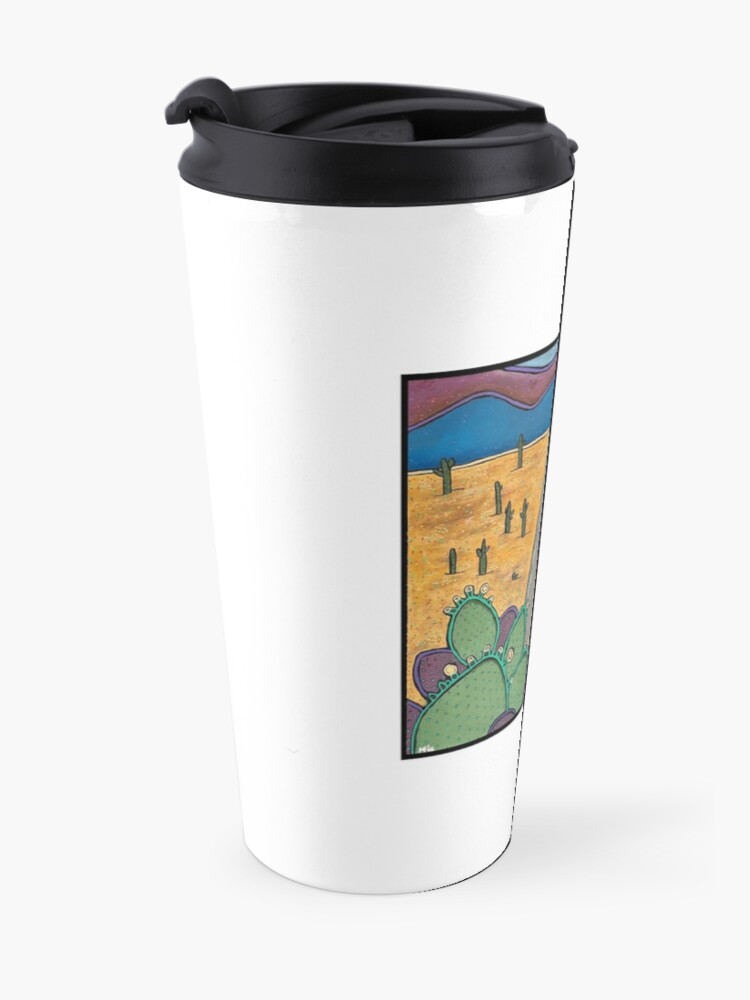 Alternate view of Risk Blossoming Travel Mug