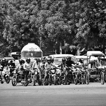 Delhi Rush Hour by daniiiel