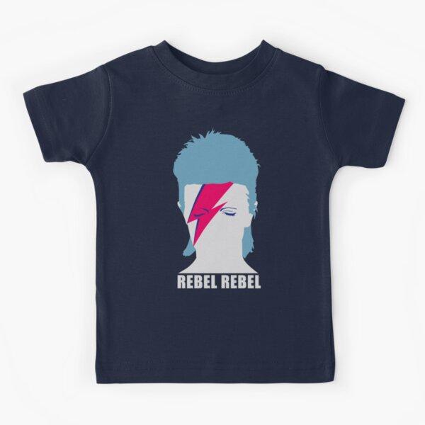 ROCK N ROLL STAR #illustration #head2 Kids T-Shirt