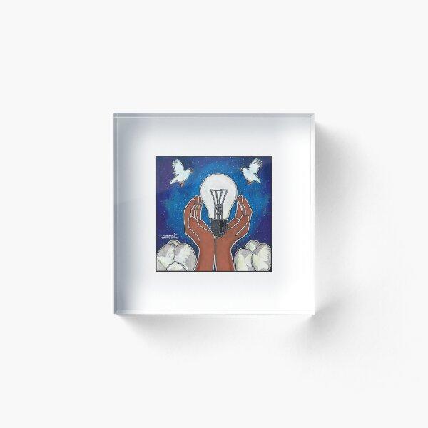BeThe Bright Light Acrylic Block