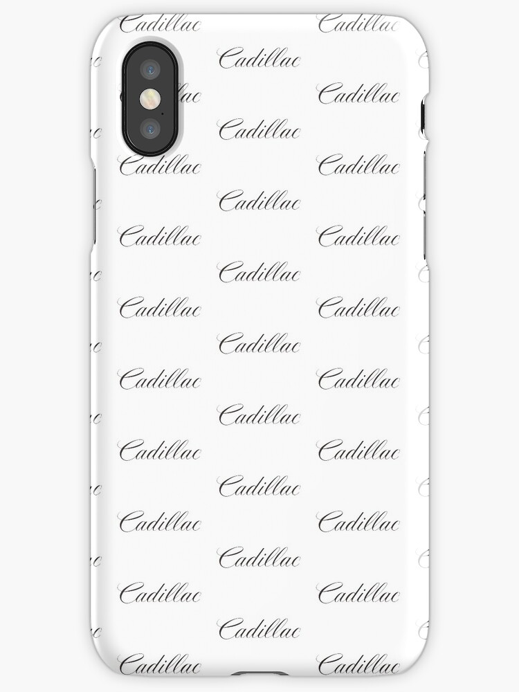 Cadillac Merchandise by Ella Knowlton