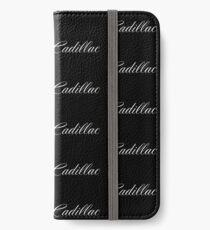Cadillac Merchandise iPhone Wallet/Case/Skin