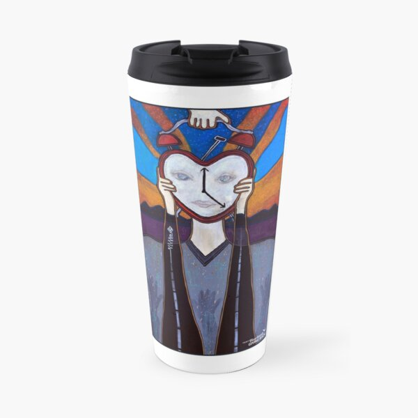 Time Heals Travel Mug