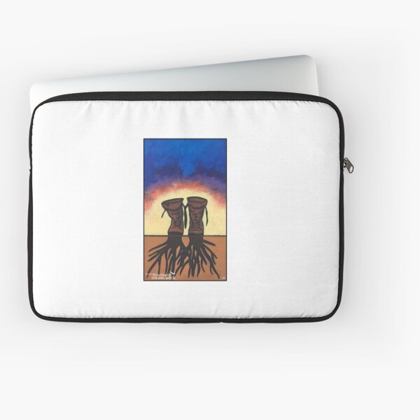 Boot Strapped Roots Laptop Sleeve