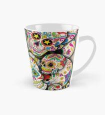 Sugar Skull Collage Tall Mug