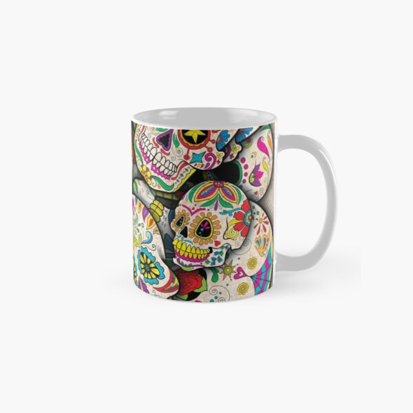 Sugar Skull Collage Classic Mug
