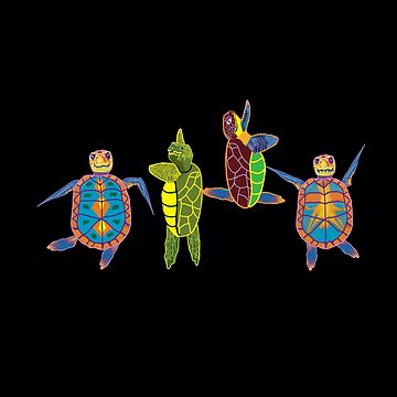 Turtles Dancing by ZenGalacticore
