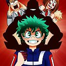My Hero Academia by GrittySugar