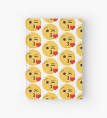 JoyPixels Face Blowing a Kiss Hardcover Journal