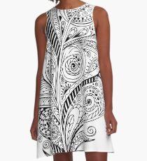 Plume A-Line Dress