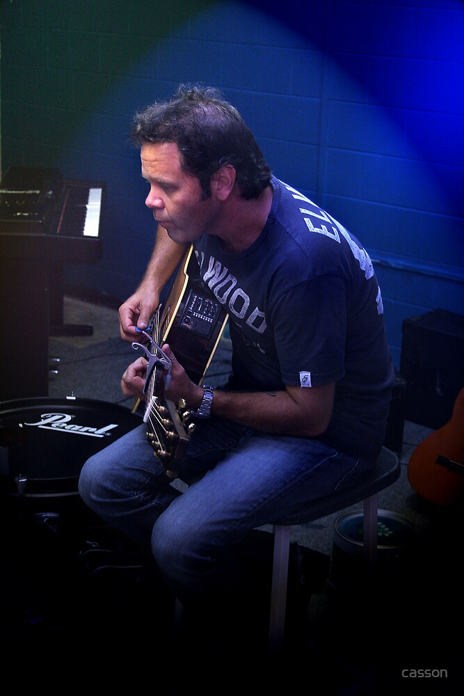 Troy Cassar-Daley by casson