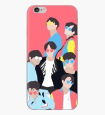 BTS FAKE LOVE ILLUSTRATION iPhone Case