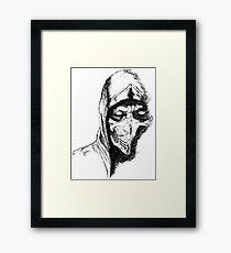 Scorpion Mortal Kombat X Framed Print