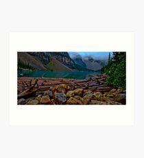 Lake Morraine, Canada. Art Print