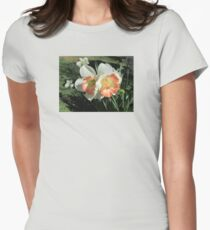 Twin Daffodils ~ Womens Fitted T-Shirt
