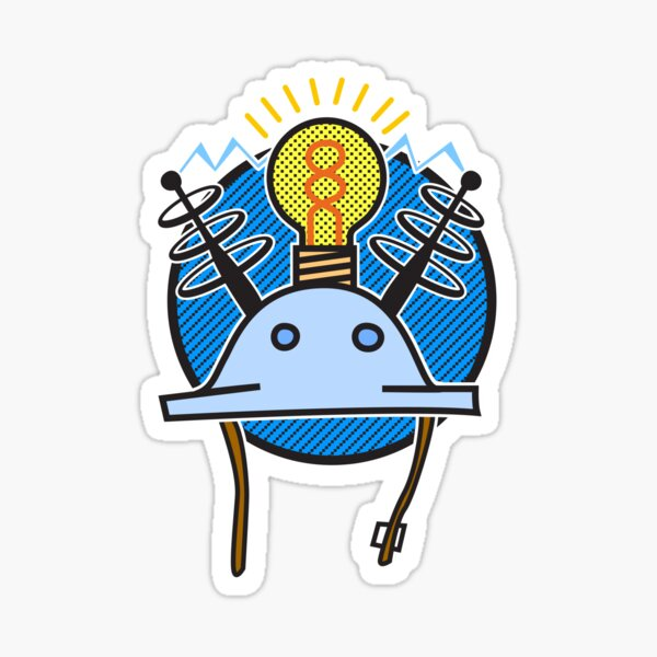 Thinking Cap Sticker